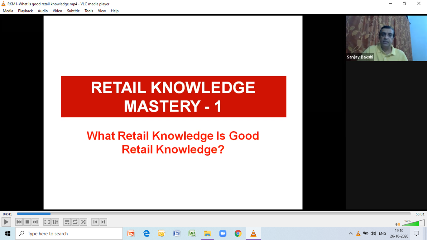Retail Knowledge Mastery Webinar