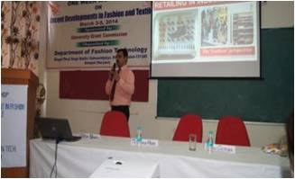 Guest Lecture On Fashion Retail